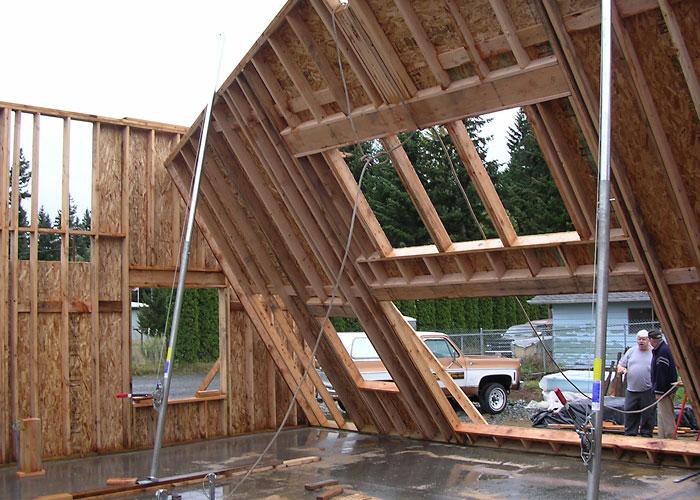 Timber Frame House | Technique Construction Inc.